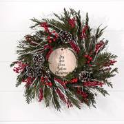 Christmas Kiss Wreath