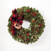 Run Run Reindeer Wreath