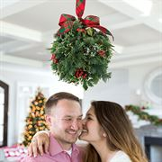 Under the Mistletoe Kissing Ball