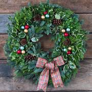Holiday Revelry Wreath 30-inch