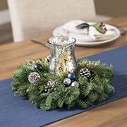 Frosted Woods Centerpiece