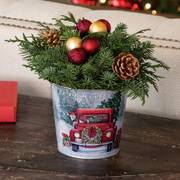 Holiday Memories Centerpiece - Round