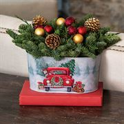 Holiday Memories Centerpiece - Oval