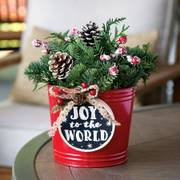 Joy to the World Centerpiece