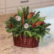 Gifts of Gladness Basket Centerpiece