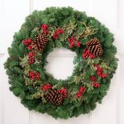 Holiday Berry Wreath 24-inch