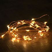 Bubble Lights - White with Copper Wire