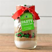 Mrs. Claus Christmas Party Cookie Mix