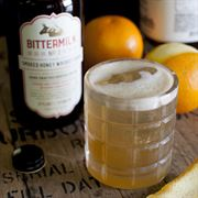 Smoked Honey Whiskey Sour
