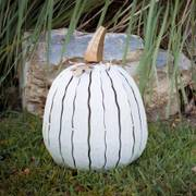 Tall White Pumpkin