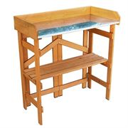 Folding Utility Table & Bench