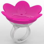 Pink Hummer Ring