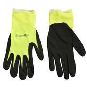 Fluorescent Garden Glove Yellow S/M