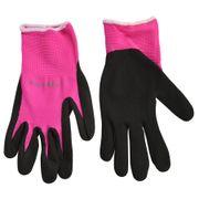 Fluorescent Garden Glove Pink S/M
