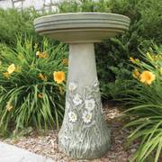 Flowering Daisy Bird Bath