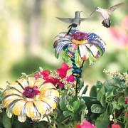 Sugar Shack™ Flower Stake Hummingbird Feeder Alternate Image 1