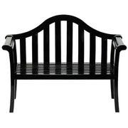 Camelback Bench - Black