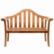 Camelback Bench - Natural Oiled