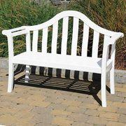 Camelback Bench - White