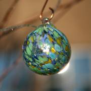 Sea Glass Solar Glass String Lights