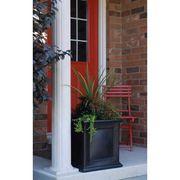 Black 20 inch Square Fairfield Patio Planter