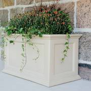 Clay 20in x 36in Fairfield Patio Planter