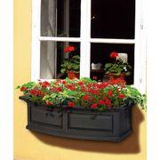 Nantucket Window Box-Black 3 Feet