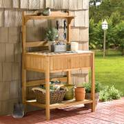 Wooden Potting Bench