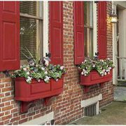 Nantucket Window Box-Red 3 Feet