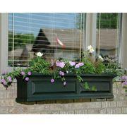 Nantucket Window Box-Green 4 feet