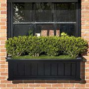 Cape Cod Window Box-Black 4 feet