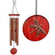 Habitats Chime--Dragonfly, Bronze