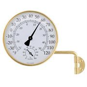 Vermont Weather Station Living Finish Brass