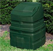 Compost Wizard Standing Bin Green