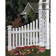 Nantucket Cottage Picket Wings - Set of 2
