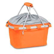 Orange Collapsible Insulated Metro Basket