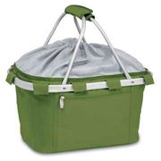 Pine Green Collapsible Insulated Metro Basket