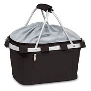 Black Collapsible Insulated Metro Basket