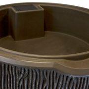 Impressions Bark 90 Gallon Rain Saver Sandstone