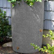 Impressions Palm 50 Gallon Rain Saver Gray