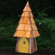 Lord of the Wing Bird House - Yellow