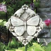 Acanthus Butterfly Plaque