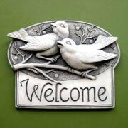 Berrybirds Welcome Plaque