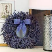 Dried Fragrant Lavender Wreath 12-inch