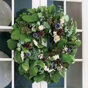 Live Fragrant Wreath