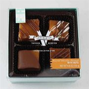 4 Piece Caramels with Nuts