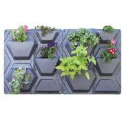 Plantscape Hex 2-Pack Vertical Planting Panels (8 planting pockets)