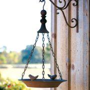 Rustic Hanging Bird Feeder