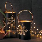 Copper Indoor/Outdoor Starry Lights, Battery-Powered