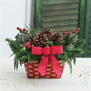 Balsam and Berry Evergreen Deluxe Basket